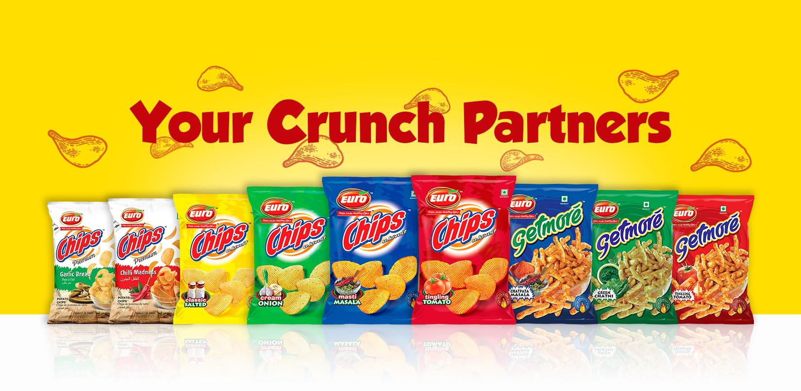 Your crunch partners