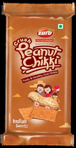 Crush peanut chikki