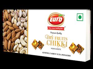 Dryfruit Almond Chikki (Almond + Cashew + Pesta)