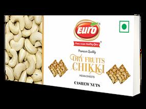 Dryfruit Cashew Nut Chikki