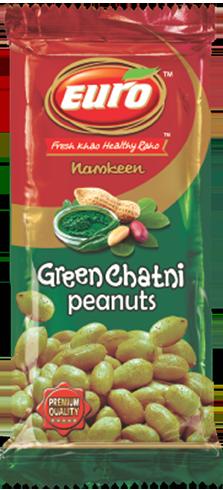 Green chatni peanuts