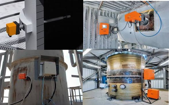 Installation of online Dust Measuring Analyzer in Boiler stack and power plant stack.jpg