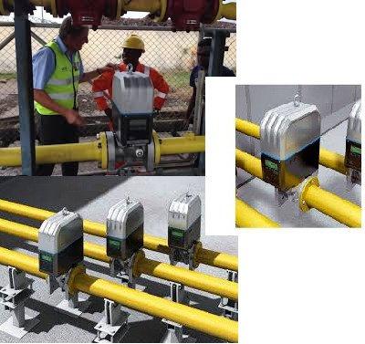 Ultrasonic Type Natural gas Flow meter installation.jpg