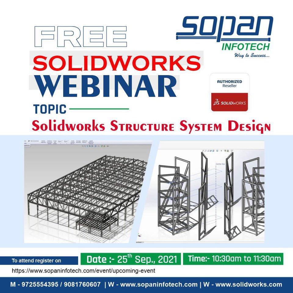 SOPAN Infotech - Webinar - SolidWorks Structure System Design.jpg