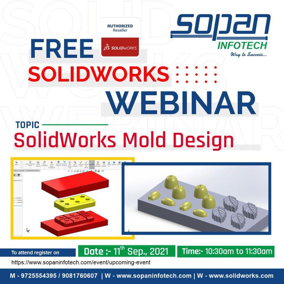 SOPAN Infotech - Webinar - Solidworks Mold Design.jpg