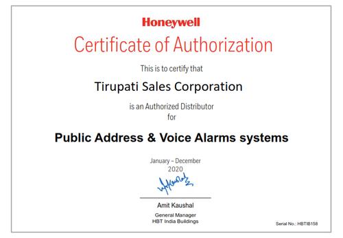 Tirupati Sales Corporation HON Distributor Certificate PAVA_001.png